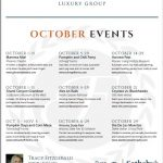 October Events Around Town